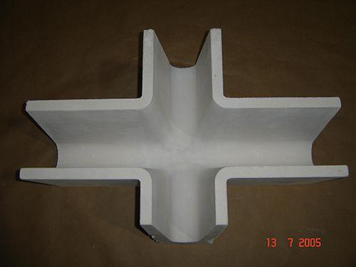 Calha Cerâmica para Alumínio