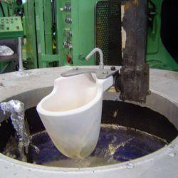 Concha cerâmica para fundição