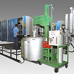 Equipamento de desgaseificação de alumínio