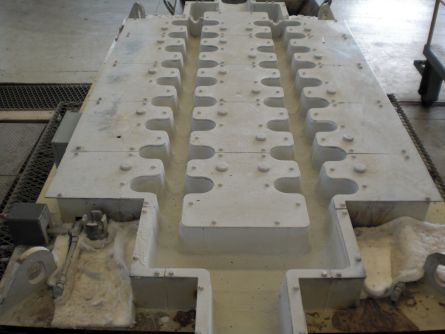 Peça Cerâmica para Alumínio